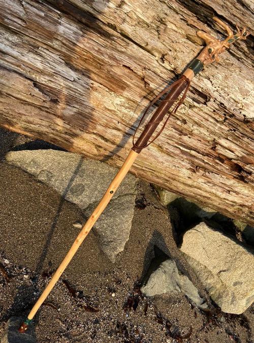 Gnome walking stick